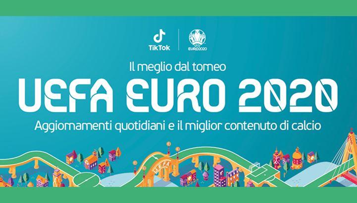 TikTok è sponsor ufficiale di Euro 2020