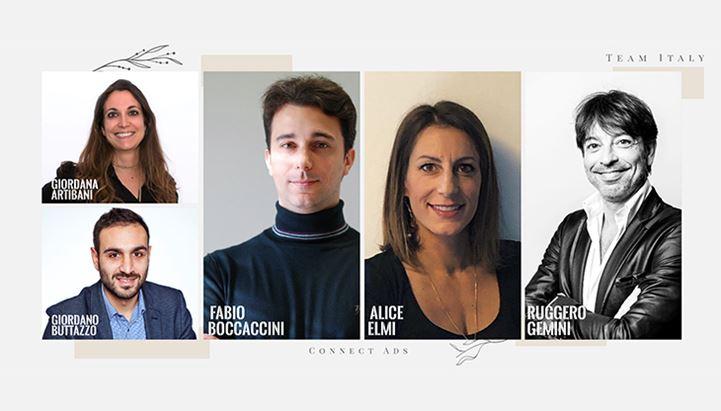 Il team italiano di Connect Ads