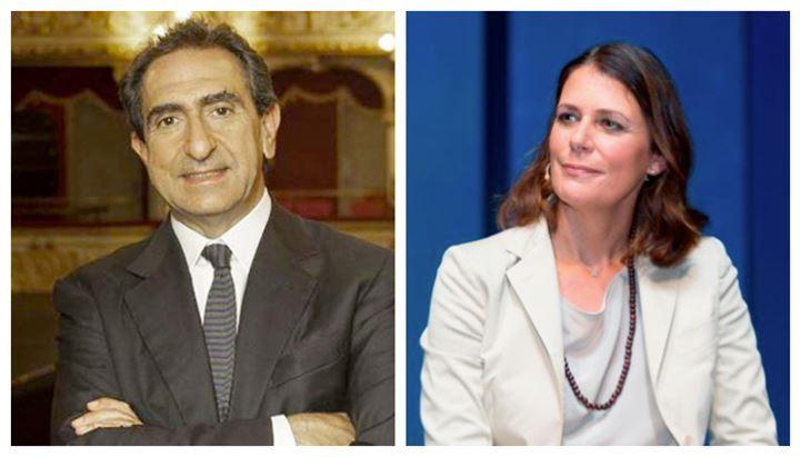 Carlo Fuortes e Marinella Soldi