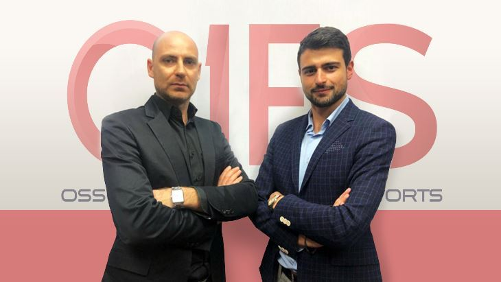 Da sinistra: Enrico Gelfi e Luigi Caputo, Co-fondatori dell'OIES