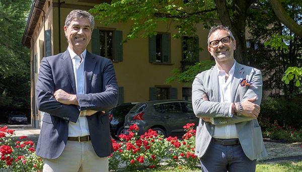 Luca Franzoso, Ceo Industree, e Giuseppe Corcione, Ceo di Reinova