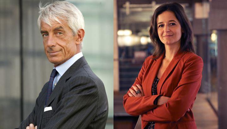 Raimondo Zanaboni, Presidente e AD di Manzoni & C. S.p.A., e Anna Gavazzi, Direttore Generale di OBE