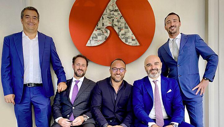 Alessandro Cozzi, Francesco Baroncelli, Fulvio Furbatto, Dario Albarello e Francesco Pastor