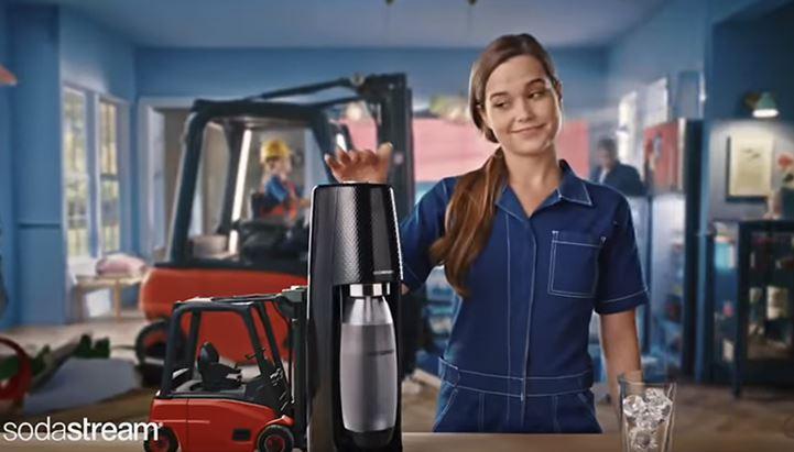 Sodastream torna in tv con un nuovo spot