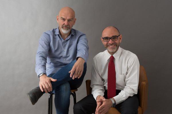 Steven Berrevoets e Luca Villani di The Van