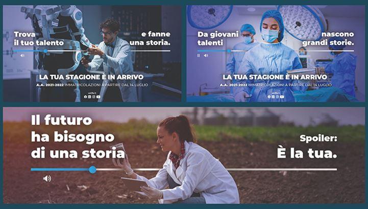 Alcuni soggetti della campagna dell'Università di Ferrara