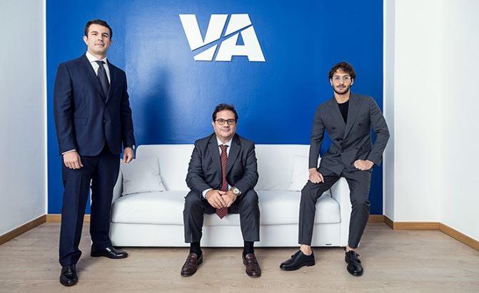Da sinistra: Stefano Arbitrio, Alessandro Arbitrio e Fabio Arbitrio