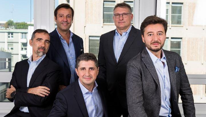 Il team fondatore del fondo BlackSheep. Da sinistra Sandro Moretti, Antonio Achille, Marco Caradonna, Giovanni Strocchi, Umberto Bottesini
