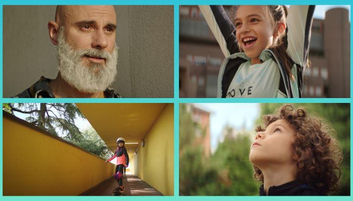 Alcune immagini dal nuovo spot Decathlon firmato Meloria