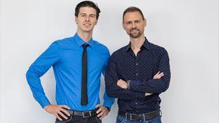 Da sinistra: Enrico Villani e Marco Piccinini, co-Founder di Diapason Digital