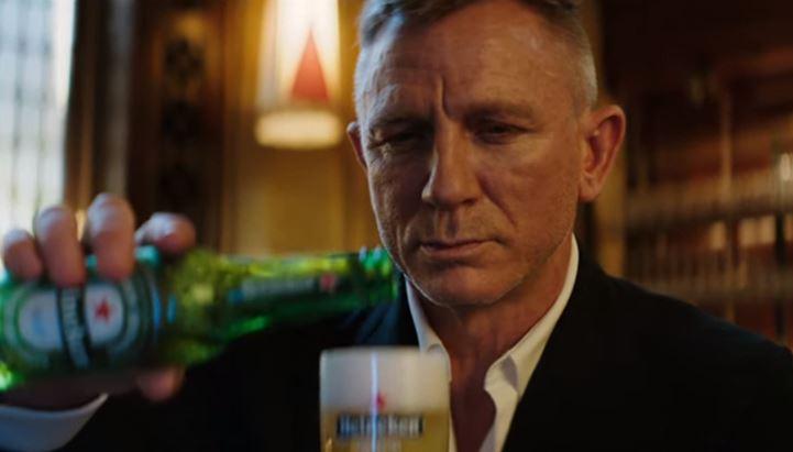 Daniel Craig nel nuovo spot Heineken