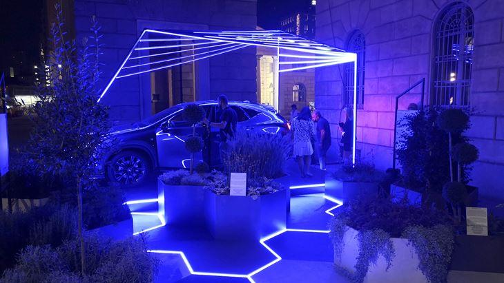 L'installazione Lexus a Milano