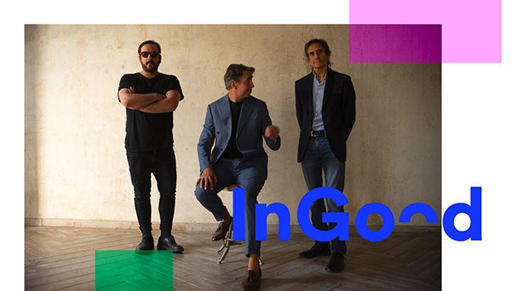 Da sinistra: Ludo Samen, Luca Zamboni e Dario Zamboni, soci di InGood