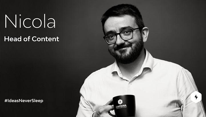 Nicola Guarino, nuovo Head of Content di Caffeina