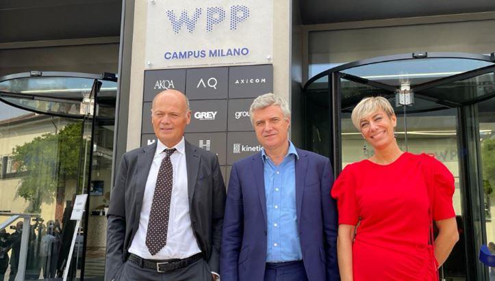 Da sinistra, Massimo Beduschi, Mark Read e Simona Maggini